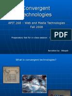 Convergent Technologies- Basic