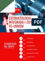 estomatologia integrada i  11 junio al 09 julio  1