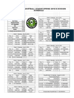 b div master 7-30  week 11 schedule