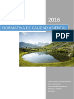 Normativas de Calidad Ambiental
