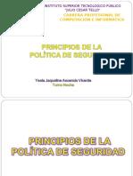 PRINCIPIOS DE LAS POLITICAS DE SEGURIDAD.ppt