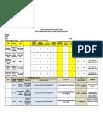 Formato IPERC (Evaluacion Red Contra Incendio)