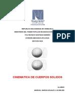 cinematica de los solidos/MARCIAL ENRIQUE GARCIA/