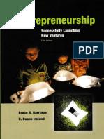 C0.Entreprenuership 5th Ed Barringer