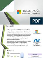 Presentacion Curso Entity Framework