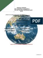 Kertas Konsep Pertandingan ASAT Public Speaking 2015