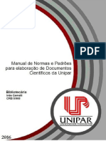Manual de Normas UNIPAR 2016