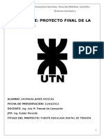 Informe Proyecto Digitales II