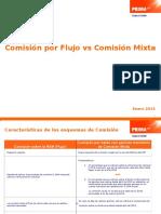 Comisión Por Flujo vs Comisión Mixta_final