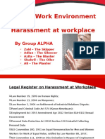 SMMH Assignment - Hostile Work Environment Harassment Gp. Alpha Added