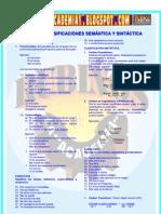 EL VERBO  CLASIFICACIONES SEMÁNTICA Y SINTÁCTICA
