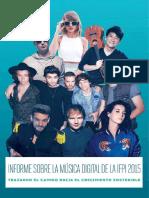 Digital Music Report 2015 Spanish