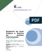 UFPE_RELATÓRIO_ Método Da Adição de Padrão
