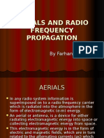 Aerials & Radio Frequency Propagation
