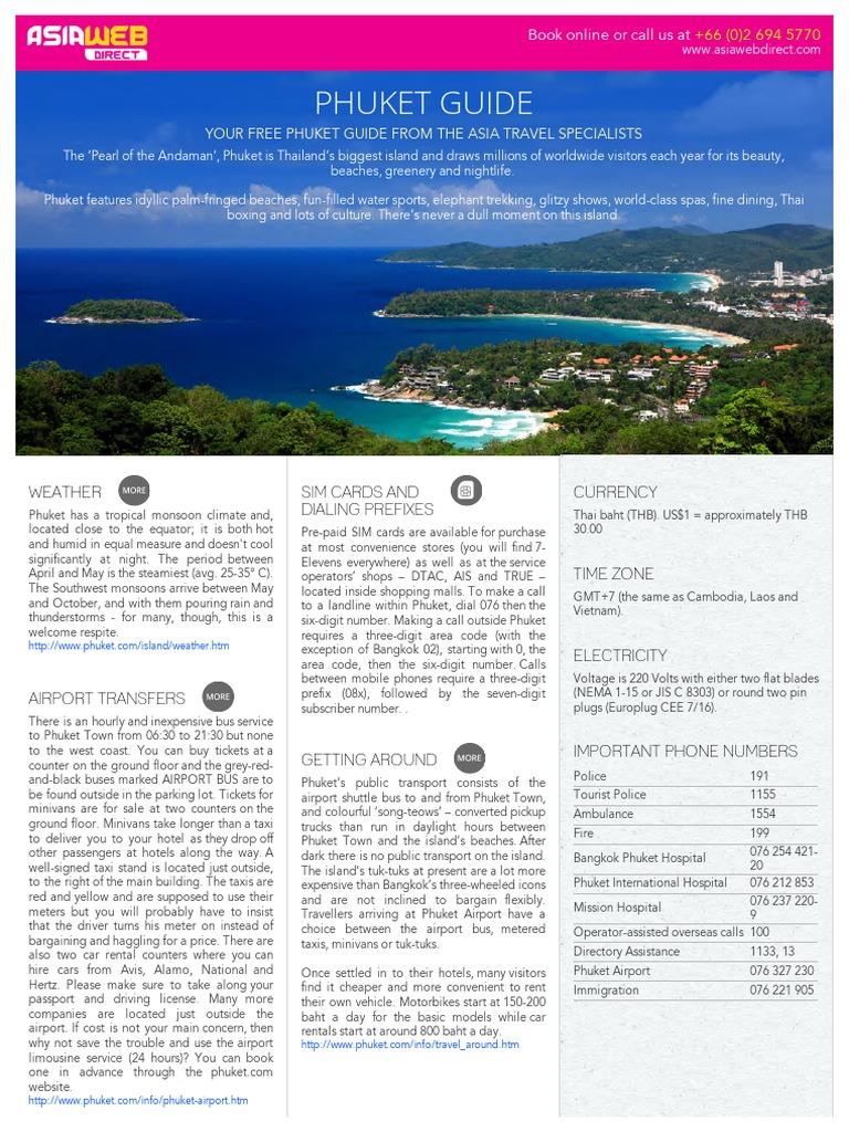 Thailand Tourist Guide Pdf - Tourism Company and Tourism