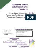 Contoh-contoh Sistem Informasi Pada Bisnis-bisnis