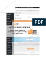 Leapedservice Wordpress User Quick Guide