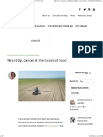 RoundUp, Cancer & the Future of Food _ Pesticide Action Network