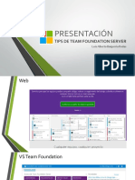 Presentacion Tips Team Foundation Server