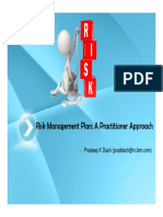 Risk Management Plan and Risk management using IBM IPWC