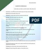 badminton terminology