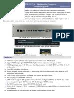 HD-521P-A Multimedia_Converter(Aluminum Panel) Catalog(en)