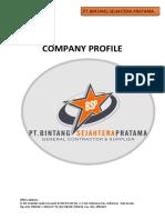 Company Profil PT. kontraktor