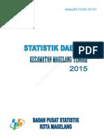 Statistik Daerah Kecamatan Magelang Tengah 2015
