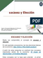 Escasez y Elección (Segunda Clase)