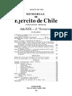 Ejercito de chile Agosto 1924