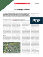 Prague Subway EPBM