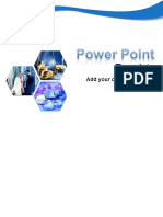 Power Point Template water