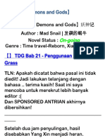Tales of Demons and Gods Bab 21 - 30