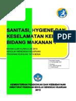 Sanitasi Hygiene k3 Bidang Makanan 1