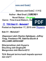 Tales of Demons and Gods Bab 51 - 60