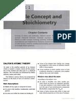 Mole Concept and Stoichiometry (arihant)