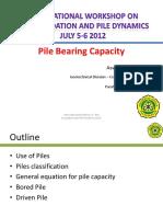 Pile Bearing Capacity