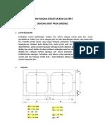 Perhitungan Struktur Box Culvert
