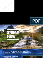 Stream Flow Measurements