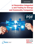 Next Generation Integrated Treasury and Trading Management for Energy and Commodity Companies