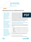 Aftershocks from the Global Food Crisis