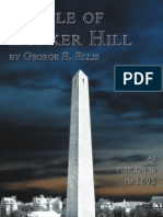 The Battle of Bunker Hill Sample