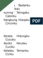 Kantong Badanku Celanakau