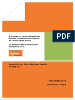 Yetim EPayment Service Proposal