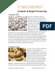 Bangladesh Garlic & Ginger Processing