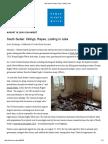 South Sudan_ Killings, Rapes, Looting in Juba