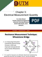 Ch3 Electrical Measurement Quantity