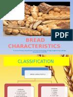 Bread Characteristics