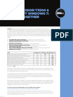 Dell Precision t3500 Win7 Os Comparison