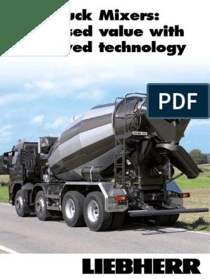 liebherr-truck-mixer pdf | Truck | Axle